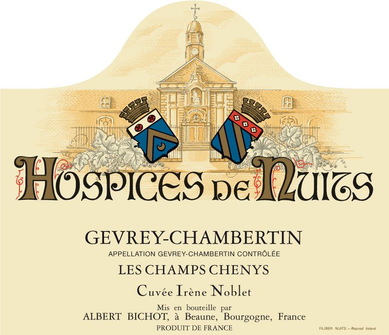 HospicesNuits-GEVREYCHABERTIN-LesChampsChenys-CuveeIreneNoblet
