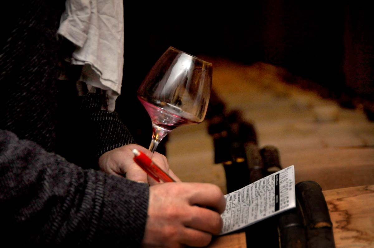 Tasting the 50 Hospices de Beaune wines a few weeks before the wine auction